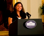 Mariana at the White House
