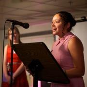 Reyna Rios reads her poem