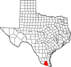 Hidalgo County map