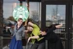 Starbucks selfie turtles