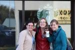Starbucks Selfie w Murph