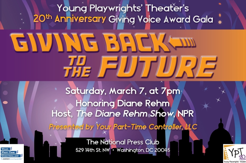 YPT's 20th Anniversary Giving Voice Award Gala is this Saturday!