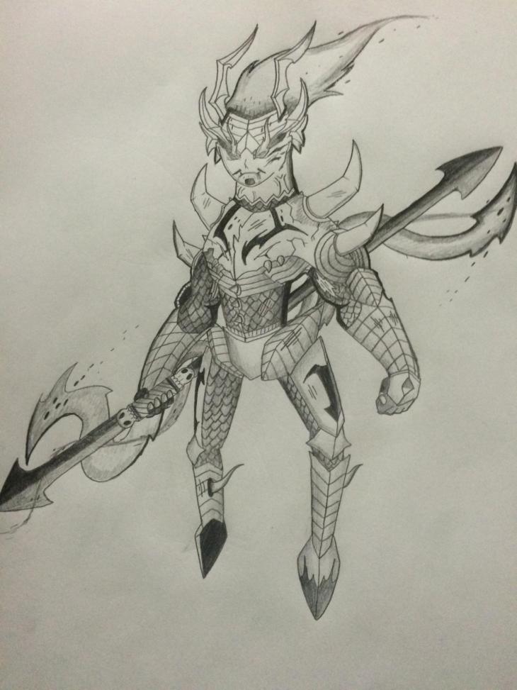 The evil Demon King!