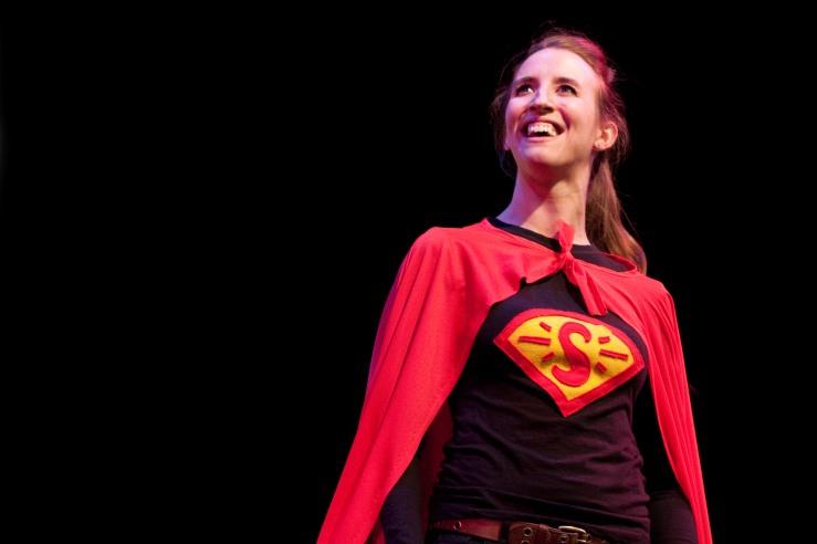 Sarah Olmsted Thomas Supergirl