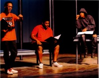 Actors performing WHO'S NEXT