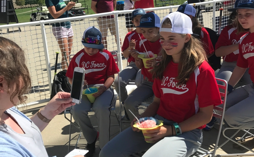 New Play Festival Playwright Maya Schindler's Trip to Baseball For All National Girls Tournament!